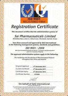 Welcome To Sai Pharmaceuticals