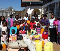 Food Donation to Joy Children's Home Oct 2013