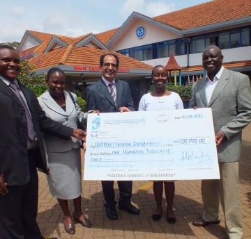 Donation towards Gertrudes Children Hospital